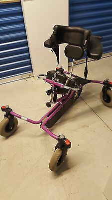 Small Bronco Purple Activity Chair Size Medium Special Needs Chair