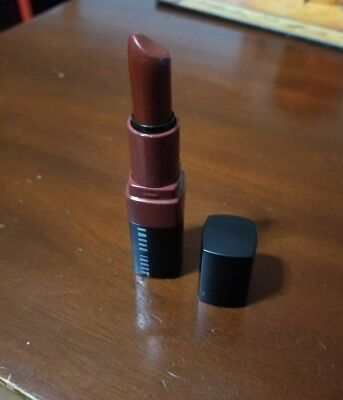 Smudged/Read BOBBI BROWN Crushed Lip Color Lipstick RUBY