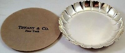 Tiffany 115gr Sterling STRAWBERRY DISH or WINE COASTER Repro of 1717 Dubln Dish