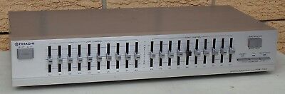 Hitachi HGE-1100 Stereo Graphic Equalizer