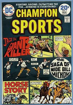 Champion Sports #3 1974 DC Comics