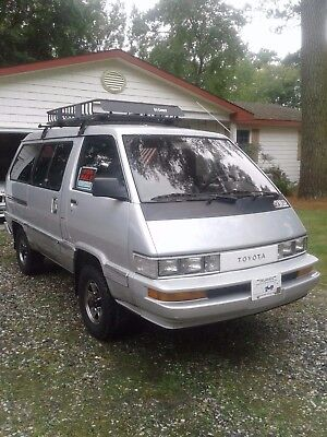 1987 Toyota Other LE 1987 Toyota LE 4x4 van rust free from California 5speed hi lo 4wd w/locking hubs