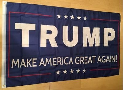 2016 Donald J. Trump 3 x 5 Foot Flag Make America Great Again for President