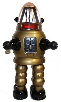 Robby the Robot Moon Robot Tin Toy Windup Gold Version