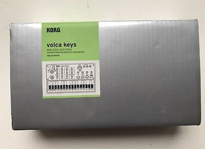 Korg NEW Volca Keys Keyboard Analogue Loop Synthesizer In Box