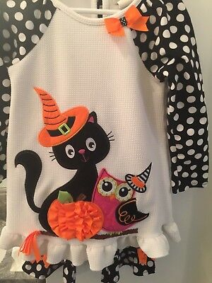 Halloween Adorable Girl's Two Piece Outfit/Size 6/Rare Editions/A+ Condition