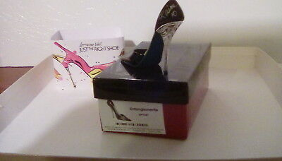 Entanglements.  Signed. Just the right shoe miniature collectible