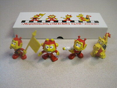 McDonalds Club Limited Edition Astrosniks - Only 500 Set Made - Mint in Box