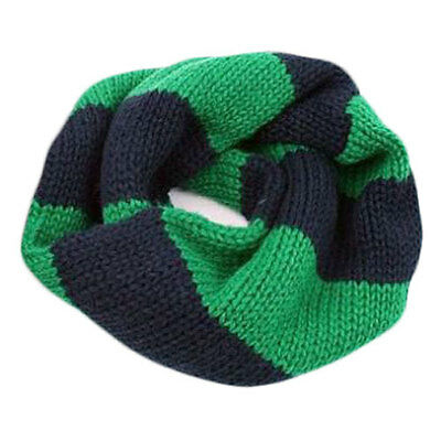 Green-Black Infinity Scarf Girl Scarves 1 -5 years