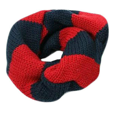 Red-Black Infinity Scarf Girl Scarves 1 -5 years