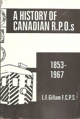 Canadian Railway Post Office RPO Mail Service RMS Pacific National CP CN GTW CV