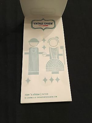 Pyrex Vintage Charm Notepad with magnet  - Rare Collectible