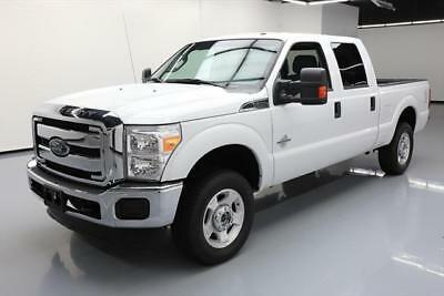 2016 Ford F-250  2016 FORD F-250 XLT CREW 4X4 DIESEL 6PASS BLUETOOTH 51K #C24008 Texas Direct