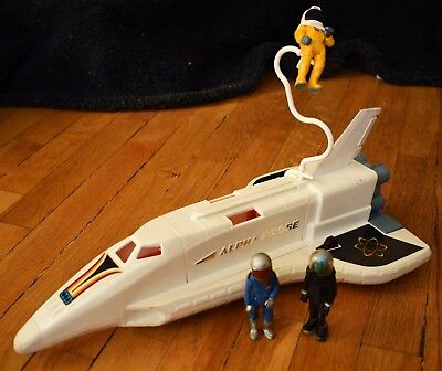 Vintage FISHER PRICE Adventure People Alpha Probe Space Shuttle 1979 325 Lot
