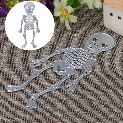NEW Halloween Skull Cutting Dies for DIY Decor Scrapbooking Card Making Supplies