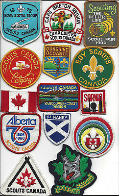 Big lot #3 Scouts Canada patches