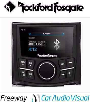 "Rockford Fosgate PMX-1R Punch Marine Full Function Wired Remote 2.7"" Display"