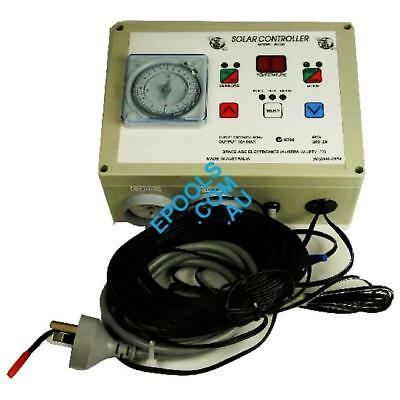 Solar Heating Controller Digital with Timer Space Age SC2DT. Free Freight