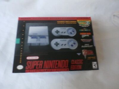 Super Nintendo Classic Nses Edition Mini System! 2017 Brand New!!!