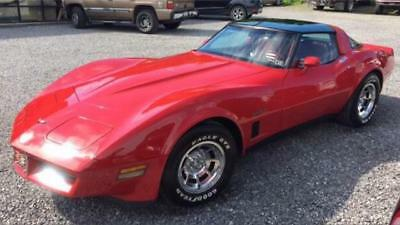 1982 Chevrolet Corvette C3 One Owner Only 33,000 Miles FSH