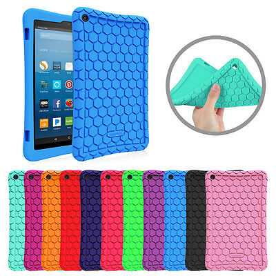 Silicone Case Shock Proof Cover for Amazon Fire 7 / Fire HD 8 / Fire HD 10