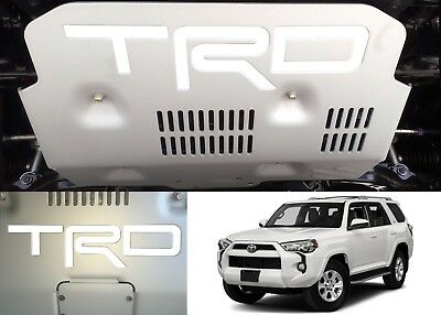 Super White Vinyl TRD Skid Plate Inserts For 2015-2018 Toyota 4Runner New USA