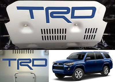 Azure Blue Vinyl TRD Skid Plate Inserts For 2015-2018 Toyota 4Runner New USA