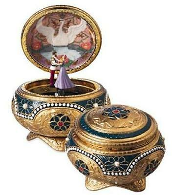San Francisco Music Box ANASTASIA Alexandra & Nicholas Hinged Music Box NEW