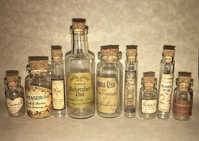 LABELS ONLY!  AMERICAN GIRL DOLL SIZED POTION BOTTLES FOR HARRY POTTER Halloween