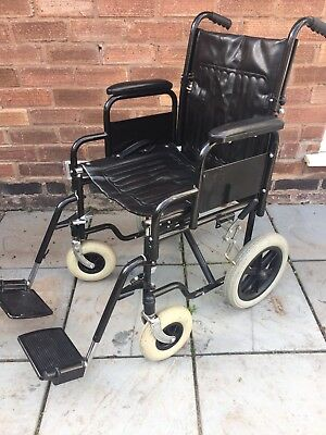 Pre Owned Adult Folding Wheelchair Good Condition Mobility Aid