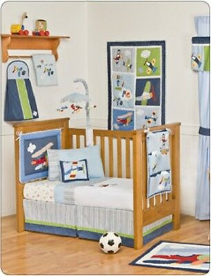 Kidsline Come Fly With Me Cot Valance BNIB rrp $44.95