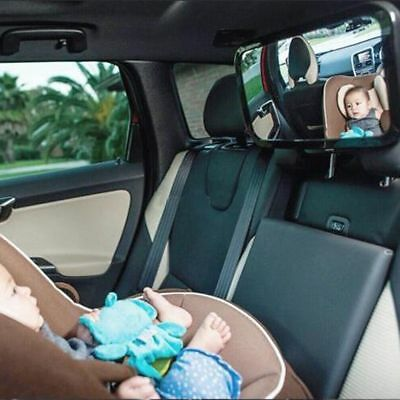 Car Baby Child Inside Mirror View Back Safety Rear Ward Facing Care Infant US