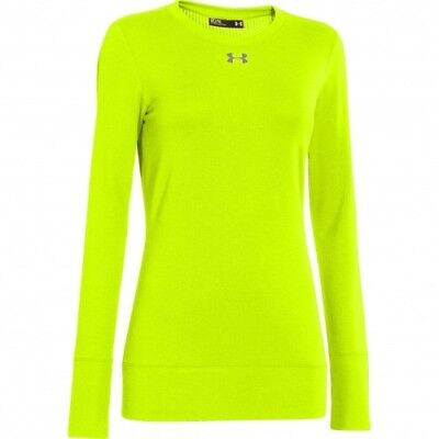 Under Armour Infrared ColdGear Crew - Women's - His-Vis Yellow - S - 1259042-731