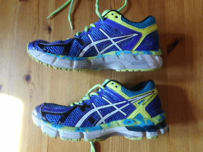 Asics Gel-Kayano 21 Running Shoes Kids Size Us 3.5 Excellent Condition