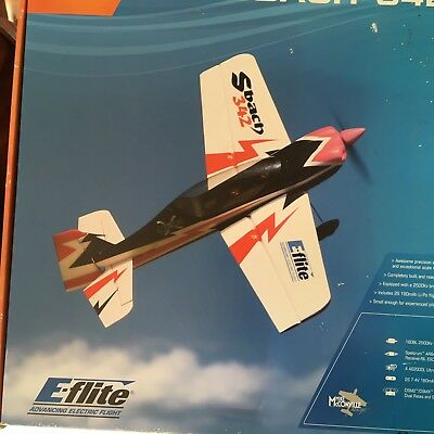 E-Flite SBACH 342    NO RESERVE    ***OTHER MODELS AVAILABLE SEE MY LISTINGS***