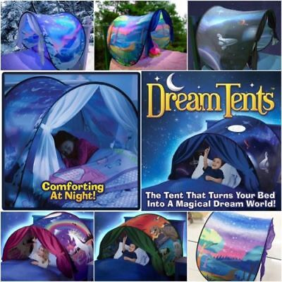 New Unicorn Dream Tents Space Adventure Foldable Tents Camping Outdoor Kids Tent