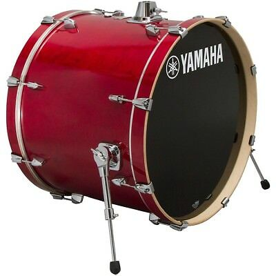 Yamaha Stage Custom Birch Bass Drum 18 x 15 in. Cranberry Red LN