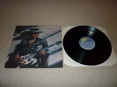 STEVIE RAY VAUGHAN AND DOUBLE TROUBLE - TEXAS FLOOD ALBUM / VINYL / RECORD 33rpm