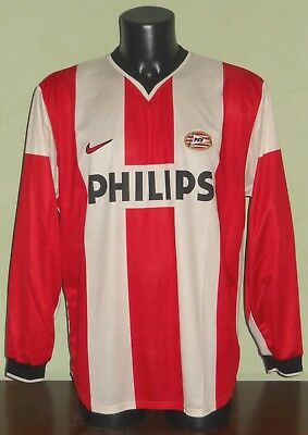 Maglia Ruud VAN NISTELROOY #8 PSV MATCH WORN Eredivisie 1998/1999 home L/S shirt