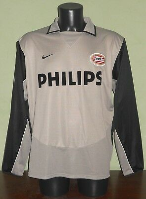 Maglia BEASLEY #11 PSV MATCH WORN / ISSUED Champions League 04/05 away L/S shirt
