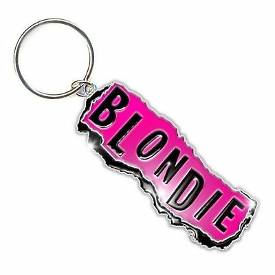 Blondie Keyring Keychain Punk band Logo new Official metal One Size