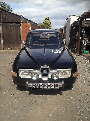 1973 Saab 96 V4 Rally Icon/Twin Stainless Exhaust/Manual/Tax exempt.