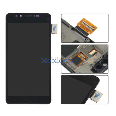 LCD Display Touch Parts Digitizer Replacement +Frame for Microsoft Lumia 950 USA