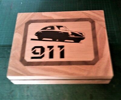 Porsche 911 - Solid Wood Jewellery Box