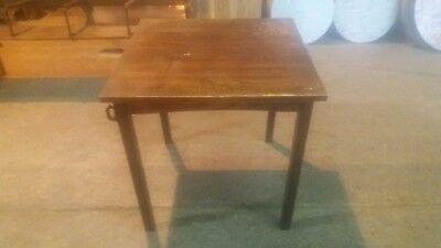 Small Square Wooden Pub/Dining Table
