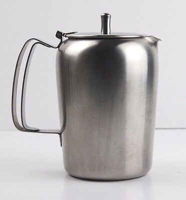 Old Hall Stainless Steel Water Coffee Pot Retro Collectable Atomic Design