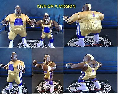 MEN ON A MISSION WWE WWF Hasbro Custom
