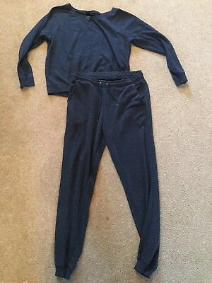 Dont Miss*! Ladies Navy Lounge Trackie, H&m Size 14/16