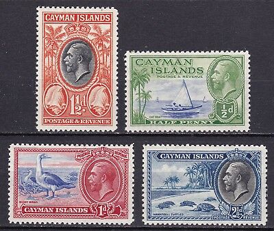 Cayman Islands 1935  part set of 4  mint hinged