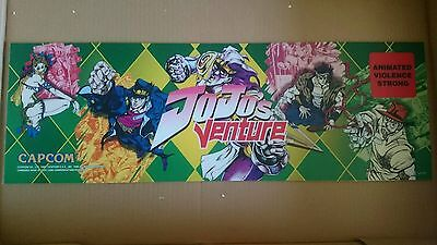 Jojo's Venture KIT NOS full complete boxed Capcom jamma pcb rare SEALED CD art